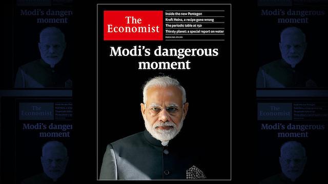 İki ülke arasındaki 'gerilim' The Economist'in kapağında