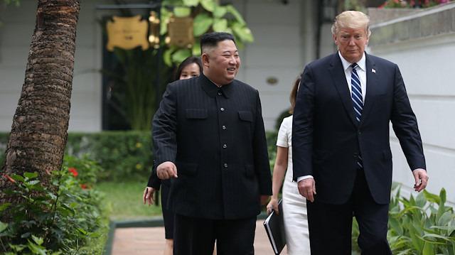 Trump'tan Kim Jong un mesajı: Çok büyük hayal kırıklığı yaşarım
