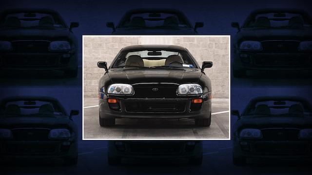 1994 model Toyota Supra, 'tarihi ücretle' satıldı