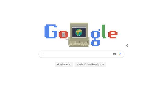 Google, World Wide Web'in 30.yılına özel doodle yayınladı
