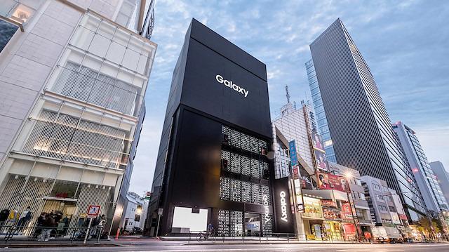 Tarihin 'en büyük' Samsung mağazası Tokyo'da açıldı