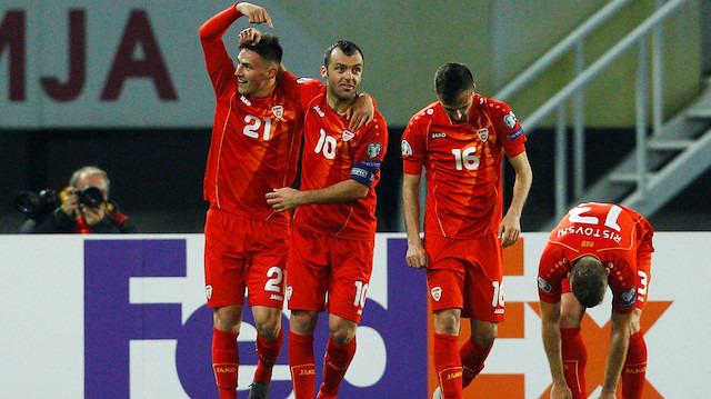 Eljif Elmas coştu, Makedonya kazandı