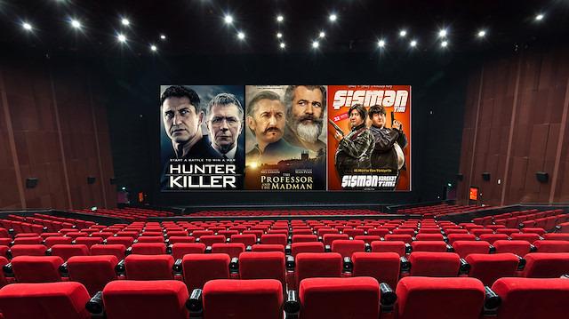 Beyaz perdede bu hafta 10 yeni film sizleri bekliyor