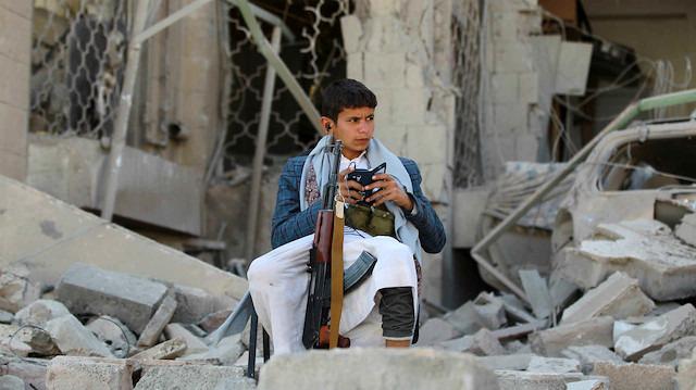 Yemen'de çocuklar çatışmalardan korunacak