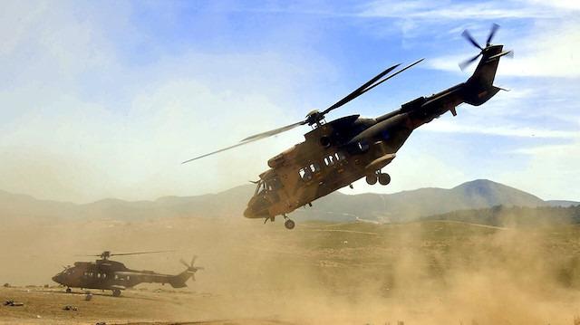 Helikopterlere engel yok: 'Lazer sistemi'