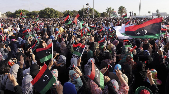 Libya müftüsü, halkı meydanlara çağırdı