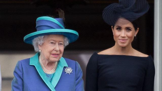 Kraliçe Elizabeth'ten Meghan Markle'a 'veto'