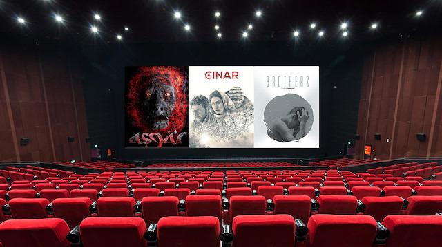 Filmler vizyona girmeye hazır; sinema salonlarına bekleniyorsunuz