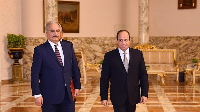 Sisi'den Hafter'e destek