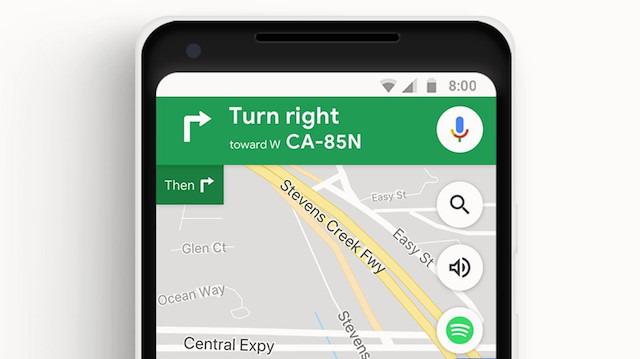 Google Haritalar artık panodaki adresleri yapıştırmayı öneriyor