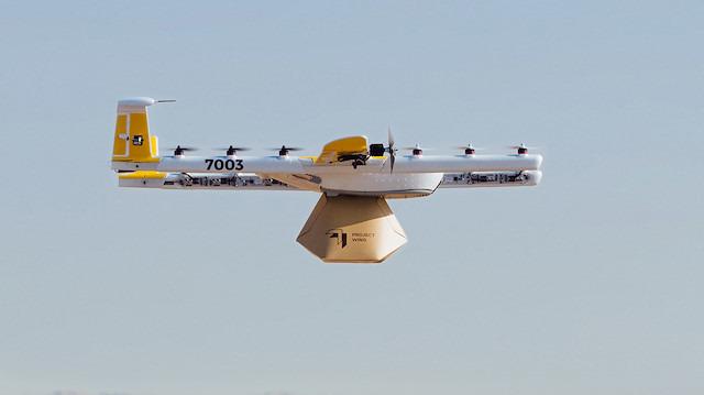 Wing, Amerika'da drone ile teslimat için sertifika alan ilk şirket oldu