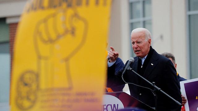 ABD Başkanlığına aday olması beklenen Joe Biden'a anket morali