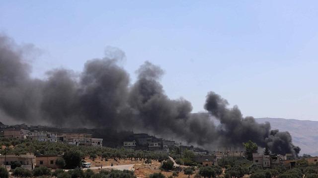 Hama ve İdlib'e bombalı saldırı: 13 sivil öldü