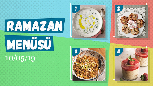 Ramazan ayına özel günlük iftar menüsü #5