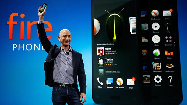 Amazon, 170 milyon dolar piyasaya değeri kaybettiği Fire telefon fiyaskosundan sonra akıllı telefon pazarına geri dönebilir