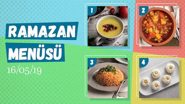 Ramazan ayına özel günlük iftar menüsü #11