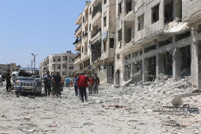 Suriye'de geçtiğimiz ay 887 sivil öldürüldü