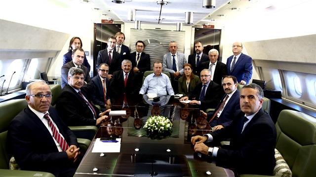 Cumhurbaşkanı Erdoğan'dan ABD dönüşü önemli mesajlar