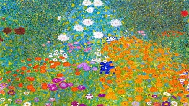 Gustav Klimt'in Çiçek Bahçesi rekor fiyata satıldı