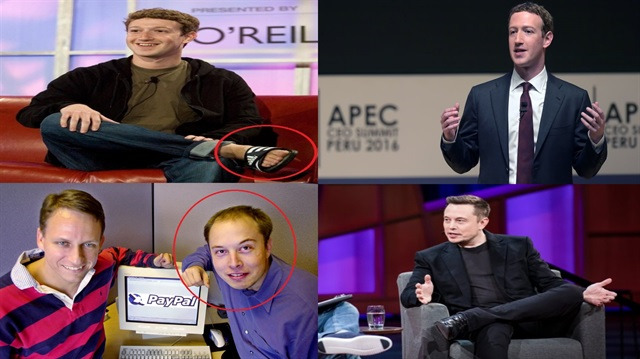 Teknoloji liderlerinin muhteşem değişimi sizi de şaşırtacak