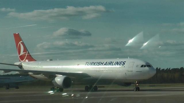 THY uçağının motoruna giren kuş, uçağı seferden etti