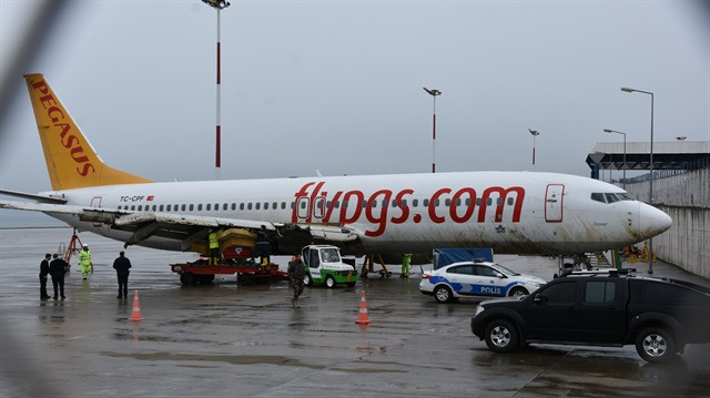 Trabzon'da pistten çıkan uçak tekrar uçacak mı?
