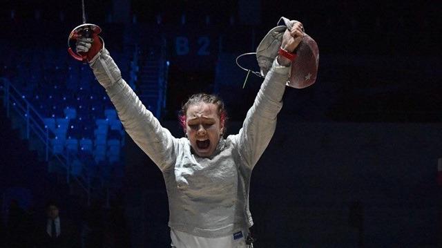 Tarihi zafer! Deniz Selin Ünlüdağ eskrimde Avrupa şampiyonu oldu