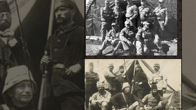 Afrin'deki askerlerimizden dikkat çeken Mustafa Kemal Atatürk karesi