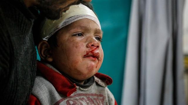 İnsanlığın unutulduğu yer Doğu Guta'da 40 sivil daha yaşamını yitirdi