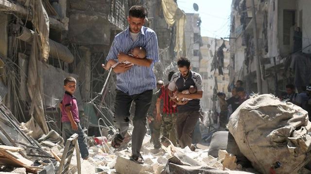Dünyanın gözü önündeki katliam: Bir ayda 433 sivil öldürüldü