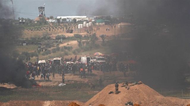 Gazze'de sivillere saldırı: 2 şehit