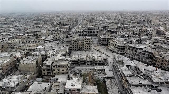 Esed rejimi Doğu Guta'da 25 sivili öldürdü