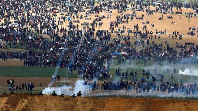 İsrail saldırganlığı: 305'i çocuk, toplam 3 bin 78 yaralı