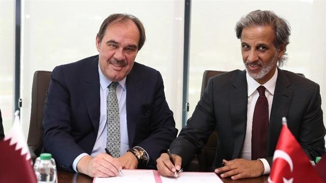 TFF ile Katar Futbol Federasyonu iş birliği anlaşması imzaladı