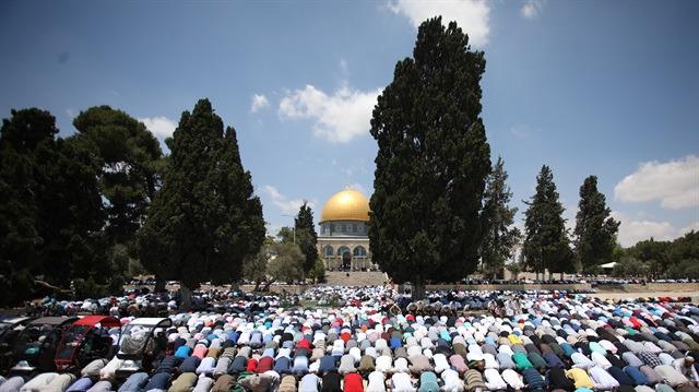 Kudüs'te ramazan başkadır