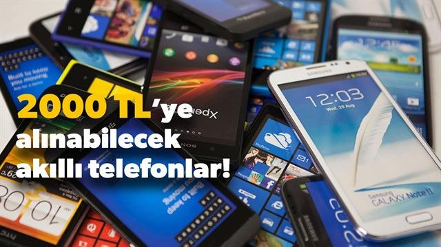 2000 TL'ye alınabilecek en iyi akıllı telefonlar listesi