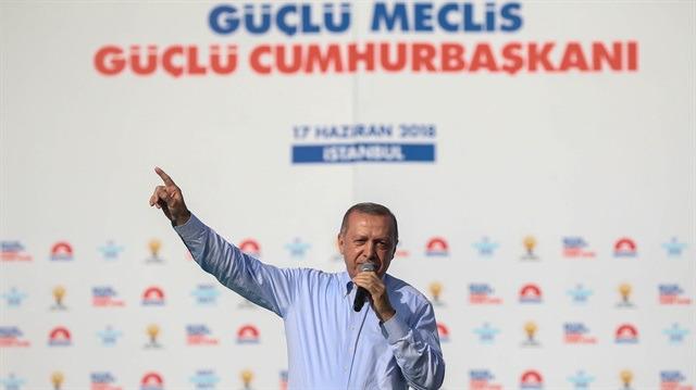 Cumhurbaşkanı Erdoğan: Bunların vizyonu kek kadar