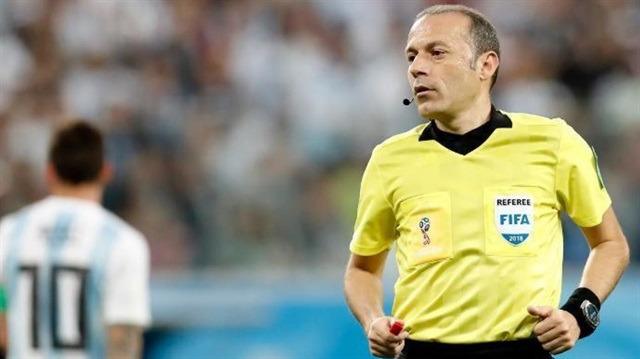 Cüneyt Çakır'a Dünya Kupası'nda dev görev