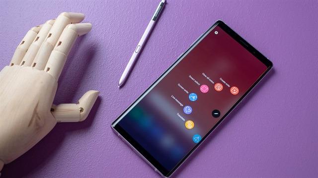 Samsung Galaxy Note 9 için güncelleme yayınlandı