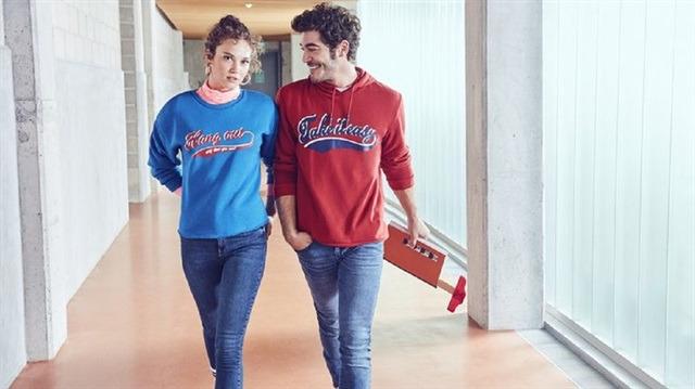d5e388d0e41d5 Koton markası yeni sezon için Melisa Şenolsun ve Burak Deniz ile anlaştı