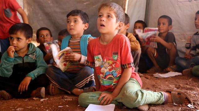 İdlib'de çocuk olmak...