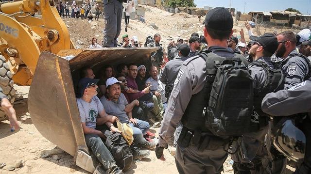 İsrail yıkım ekipleri Ağvar'a girdi