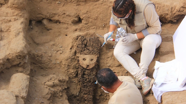 Arkeologların yeni keşfi: Ürkütücü maskelerle dolu gizemli oda