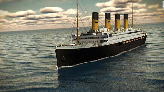 Efsane gemi Titanik, 2022'de ilk seferine çıkıyor