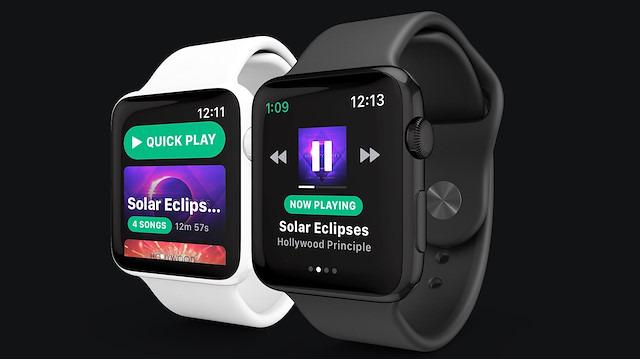 Spotify Apple Watch uygulamasının test süreci başladı