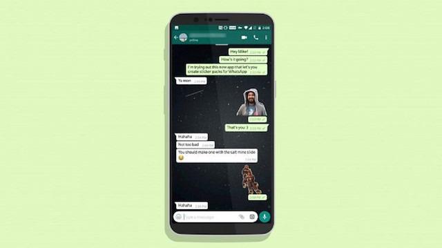 WhatsApp'ta çıkartma nasıl yapılır?