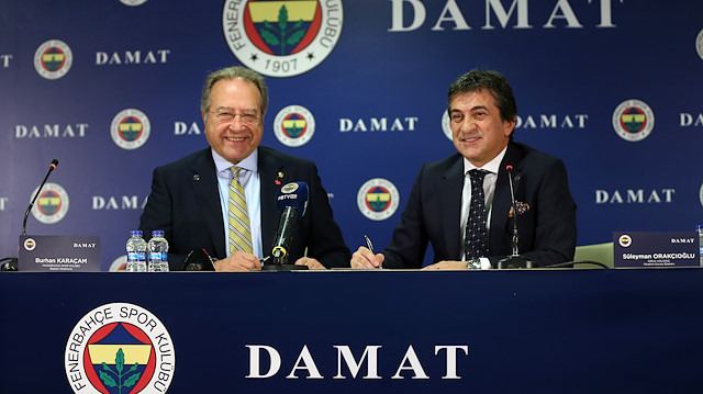 Fenerbahçe'nin yeni sponsoru Damat