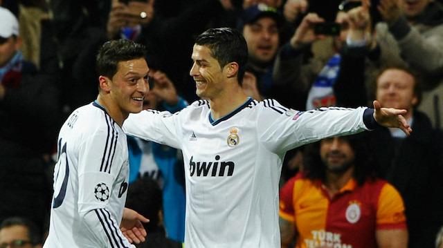 Cristiano Ronaldo'nun 'Mesut Özil' öfkesi