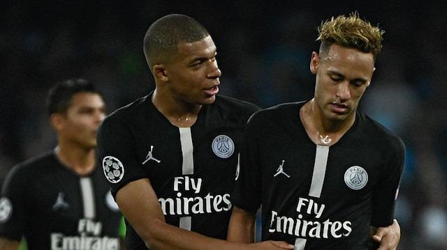PSG'de sakatlık alarmı: Neymar ve Mbappe'nin durumu belli oldu