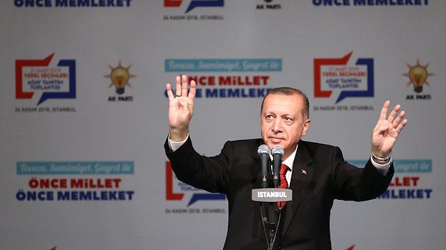 Erdoğan'dan yerel seçimlere süper kadro